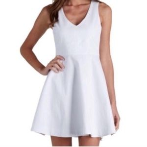 NWT Joie Norton Fit & Flare Dress in White Size XS